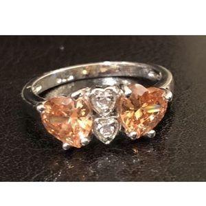 New 🧡 Citrine 925 Ring Size 8